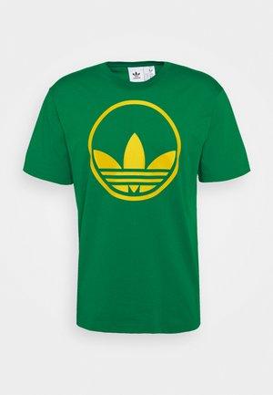 CIRCLE TREFOIL - T-shirt z nadrukiem - green