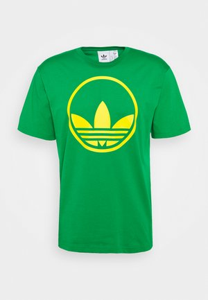 CIRCLE TREFOIL - Print T-shirt - green