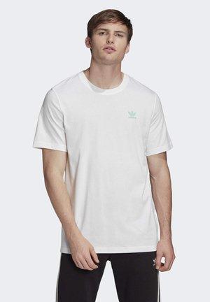 T-SHIRT - T-shirt z nadrukiem - white