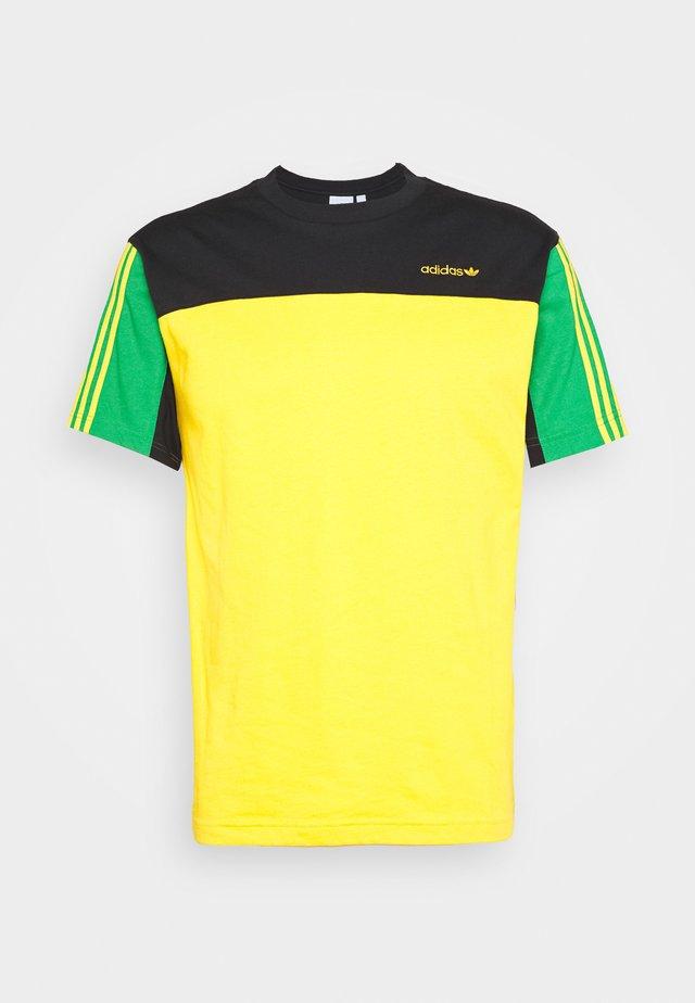 CLASSICS TEE - T-shirt print - actgol/black