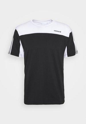 CLASSICS TEE - Print T-shirt - black/white