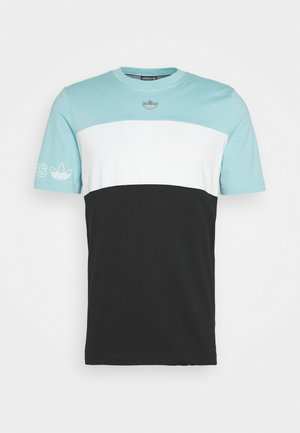 PANEL TEE - T-shirt con stampa - blue
