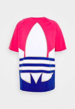 TREFOIL ADICOLOR SHORT SLEEVE TEE - T-shirts med print - pink
