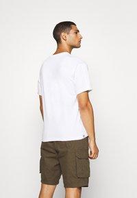 adidas Originals - FLAG FILL TEE - Print T-shirt - white/multi-coloured - 2