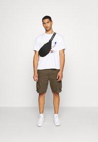 adidas Originals - FLAG FILL TEE - Print T-shirt - white/multi-coloured - 1