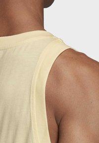 adidas Originals - TREFOIL TANK TOP - Top - yellow - 6