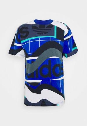 TEE - Print T-shirt - tech indigo