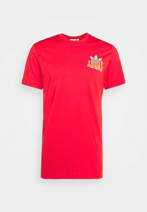 MULTI FADE  - Camiseta estampada - lush red