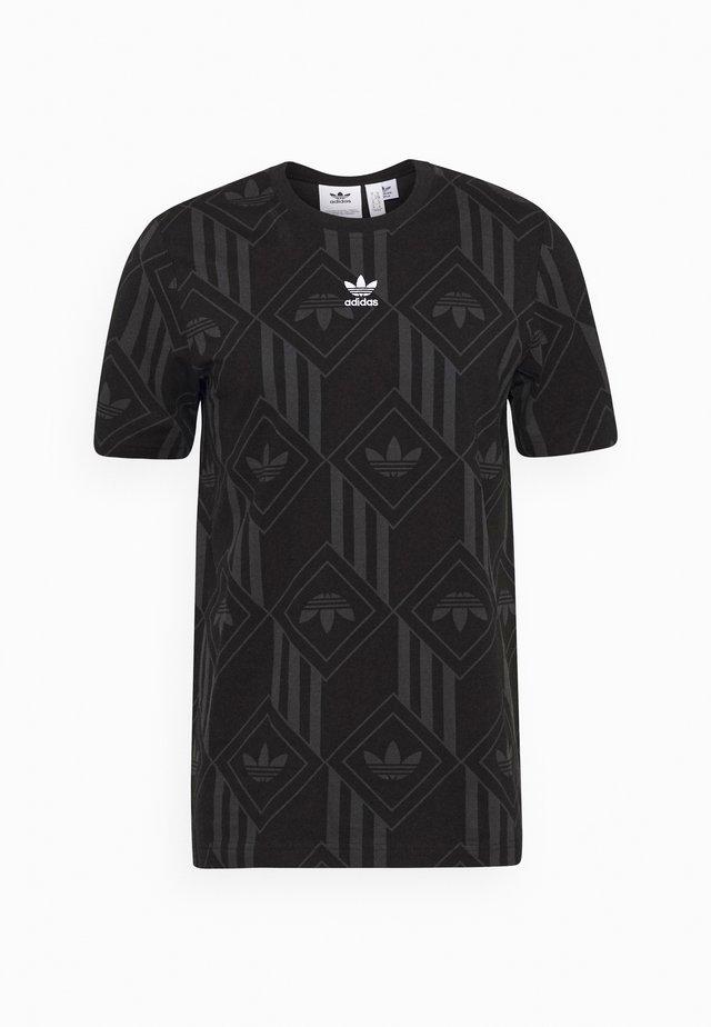 MONO TEE  - T-shirt con stampa - black