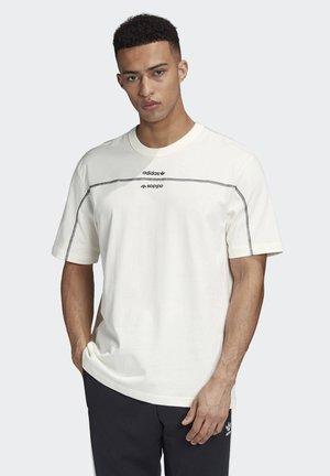 R.Y.V. T-SHIRT - T-shirt z nadrukiem - white