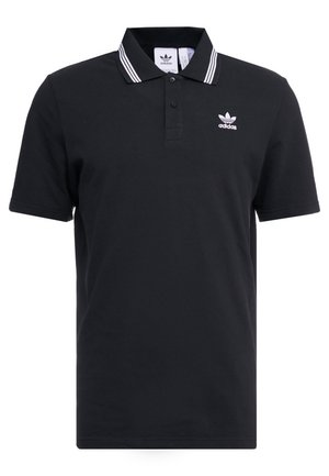 ADICOLOR TREFOIL SHORT SLEEVE POLO - Polotričko - black