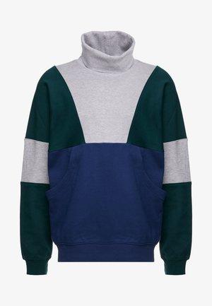 Sweatshirt - blue / grey