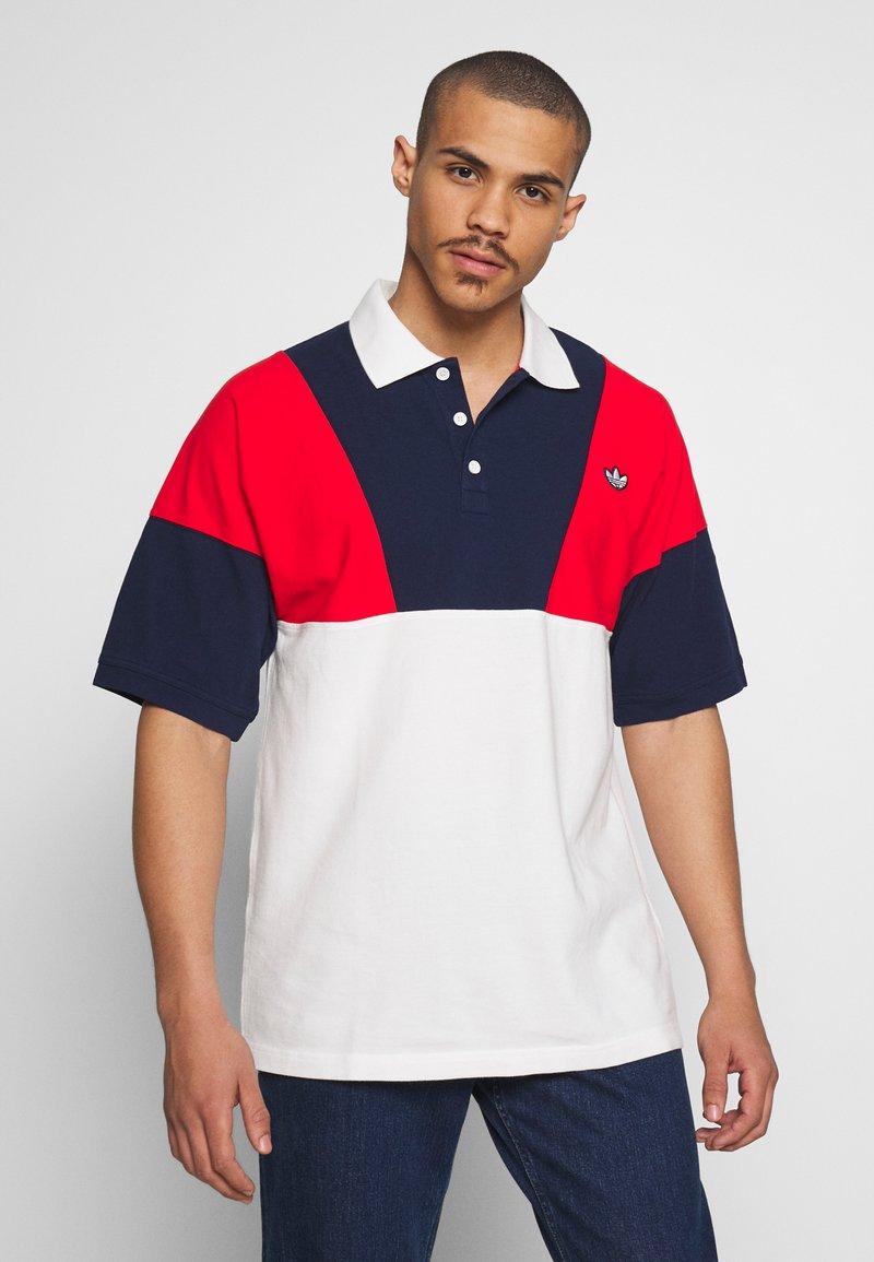 adidas Originals - Polo - red/white/blue
