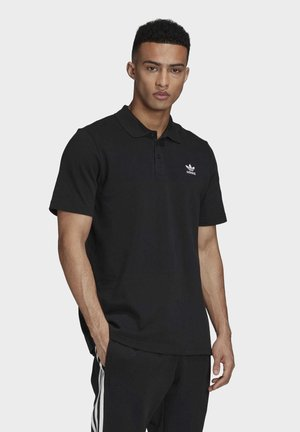 TREFOIL ESSENTIALS POLO SHIRT - Koszulka polo - black