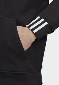 adidas Originals - FULL-ZIP HOODIE - Zip-up hoodie - black - 3