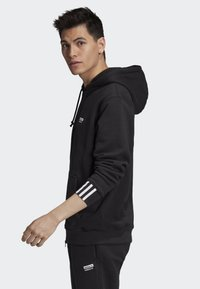 adidas Originals - FULL-ZIP HOODIE - Hoodie met rits - black - 2