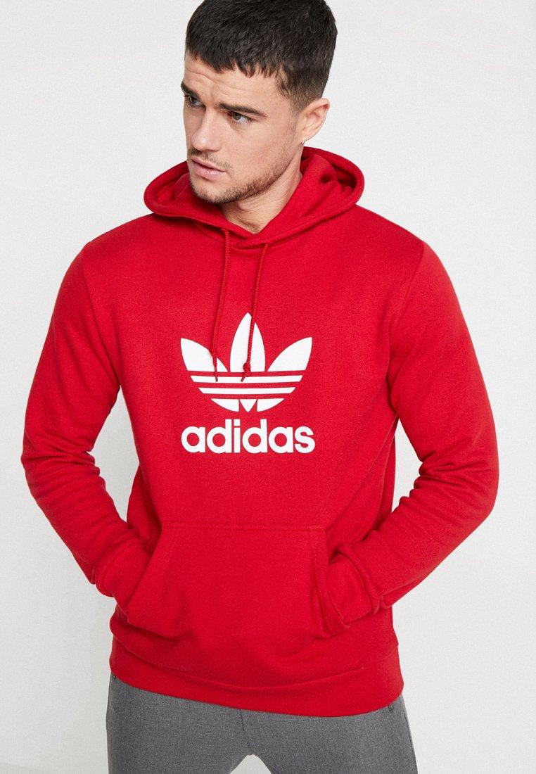 adidas Originals - ADICOLOR TREFOIL HOODIE - Hoodie - powred
