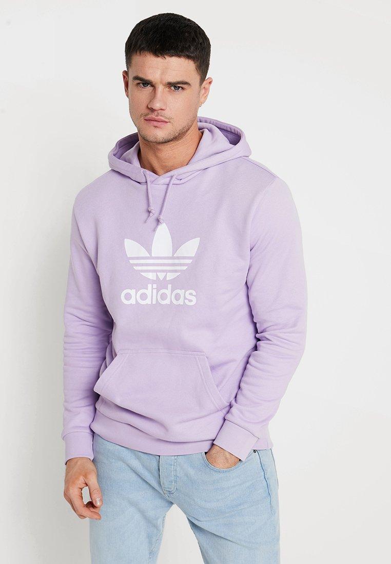 adidas Originals - ADICOLOR TREFOIL HOODIE - Kapuzenpullover - purglo