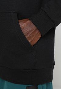 adidas Originals - ADICOLOR TREFOIL HOODIE - Huppari - black - 3