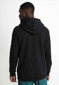 adidas Originals - ADICOLOR TREFOIL HOODIE - Huppari - black - 2