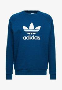 adidas Originals - ADICOLOR TREFOIL  - Sweatshirt - blue - 4