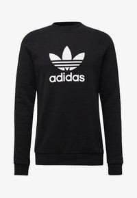 adidas Originals - ADICOLOR TREFOIL PULLOVER - Sweatshirt - black - 3