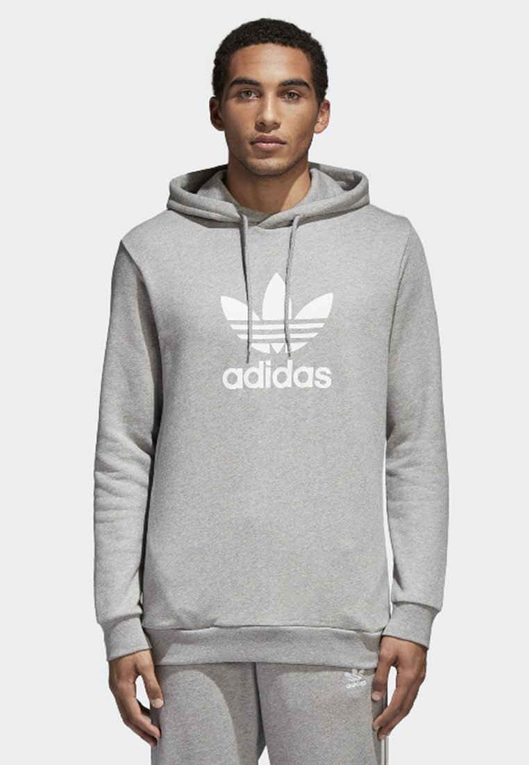 adidas Originals - TREFOIL WARM-UP - Kapuzenpullover - grey