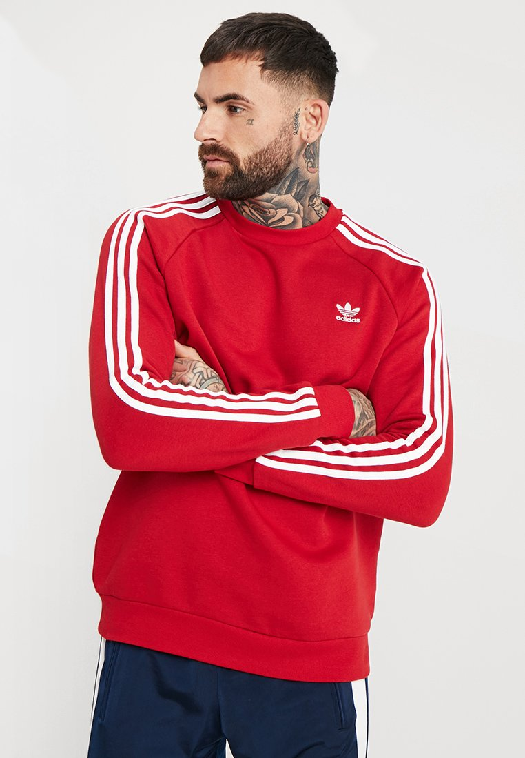 adidas Originals - STRIPES CREW - Sweater - powred