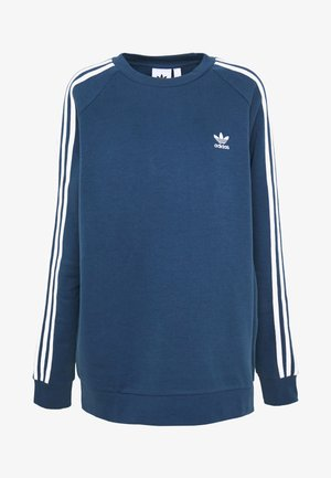 ADICOLOR 3STRIPES LONG SLEEVE PULLOVER - Felpa - nmarin