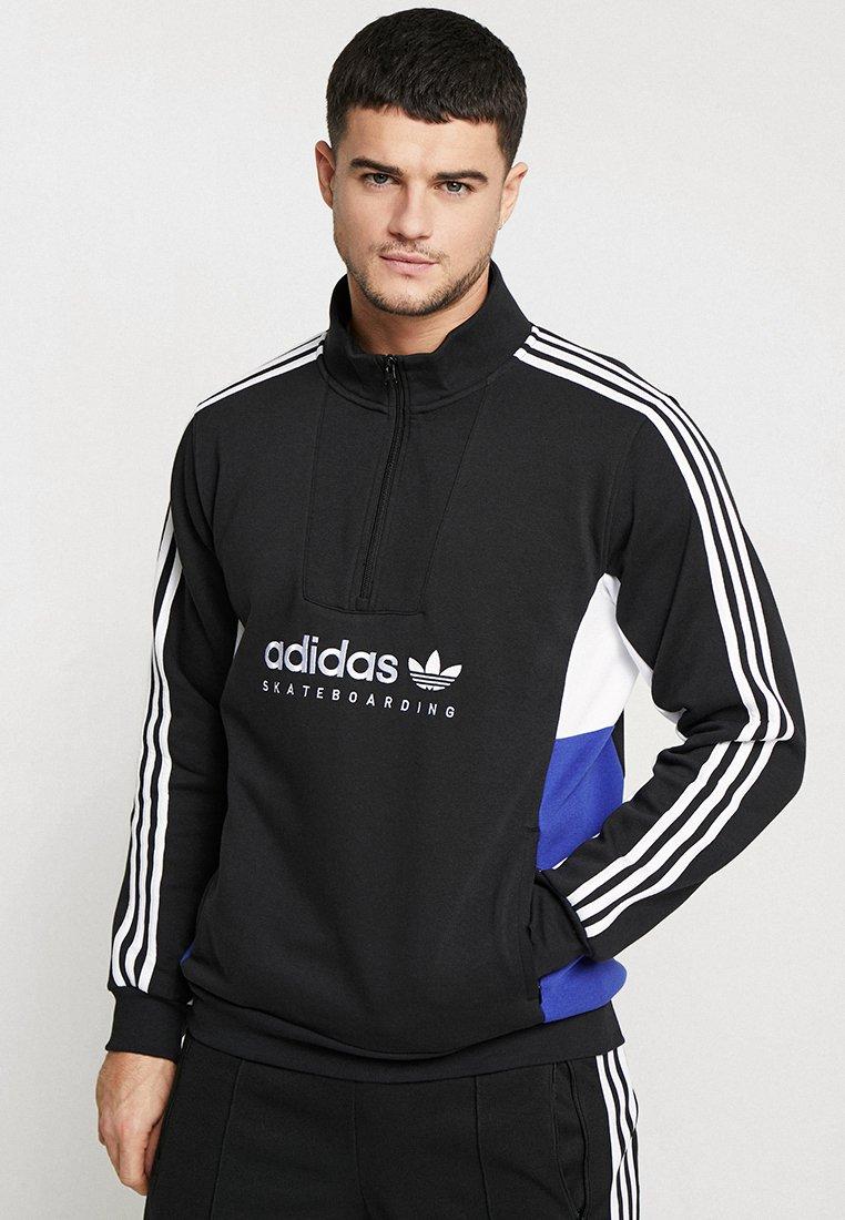 adidas Originals - APIAN - Sweatshirt - black/white/actblue