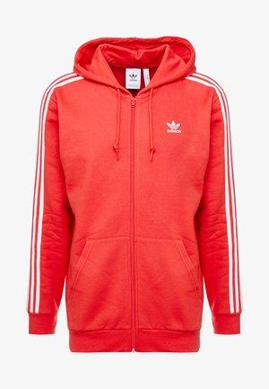 3-STRIPES  - veste en sweat zippée - lush red