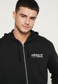 adidas Originals - HOODY - Hoodie met rits - black - 3