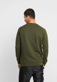 adidas Originals - ESSENTIAL TREFOIL PULLOVER - Sweatshirt - night cargo - 2
