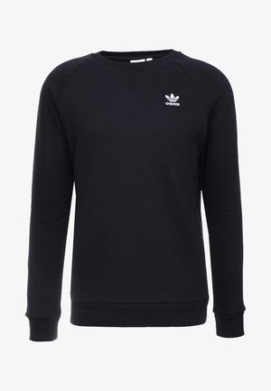 ESSENTIAL TREFOIL PULLOVER - Sweatshirt - black