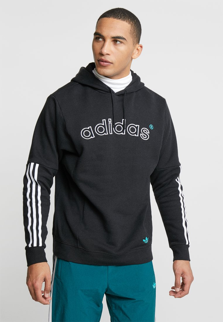 adidas Originals - ARC HOODY - Hoodie - black