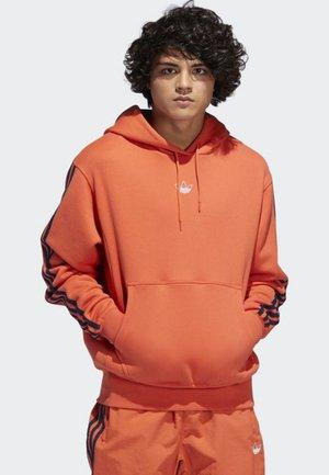 OFF COURT HOODIE - Hoodie - orange