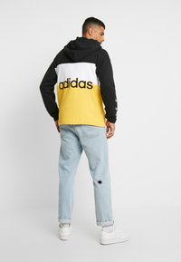 adidas Originals - PT3 Full Zip Hoodie - Collegetakki - black/white/gold - 2
