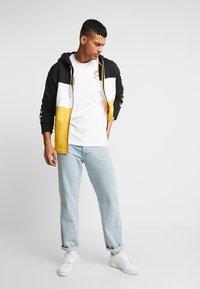 adidas Originals - PT3 Full Zip Hoodie - Collegetakki - black/white/gold - 1