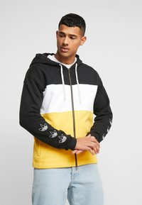 adidas Originals - PT3 Full Zip Hoodie - Collegetakki - black/white/gold - 0