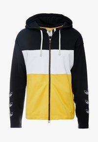adidas Originals - PT3 Full Zip Hoodie - Collegetakki - black/white/gold - 4