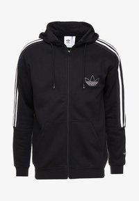adidas Originals - OUTLINE - Hoodie met rits - black - 4