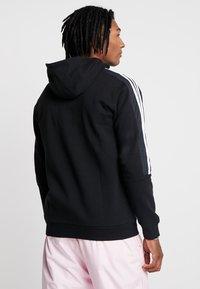 adidas Originals - OUTLINE - Hoodie met rits - black - 2