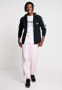 adidas Originals - OUTLINE - Hoodie met rits - black - 1