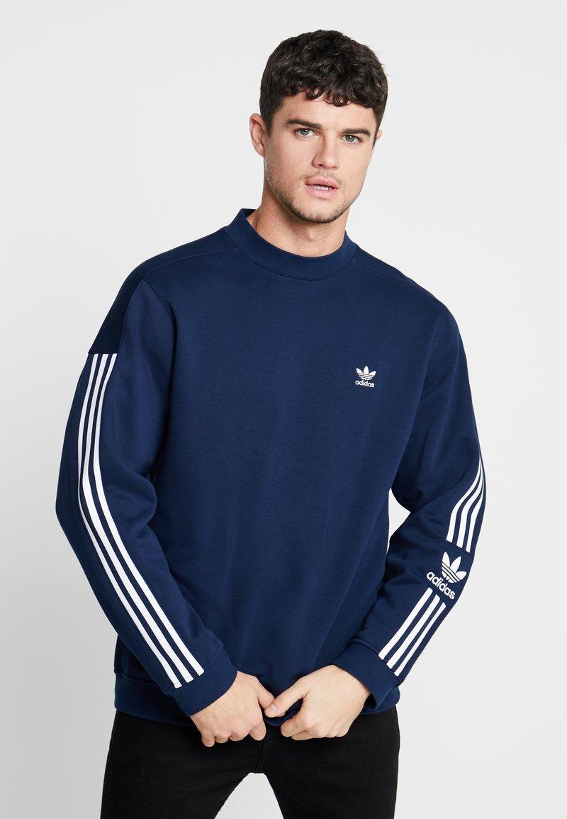 adidas Originals - ADICOLOR TECH PULLOVER - Sweatshirts - collegiate navy