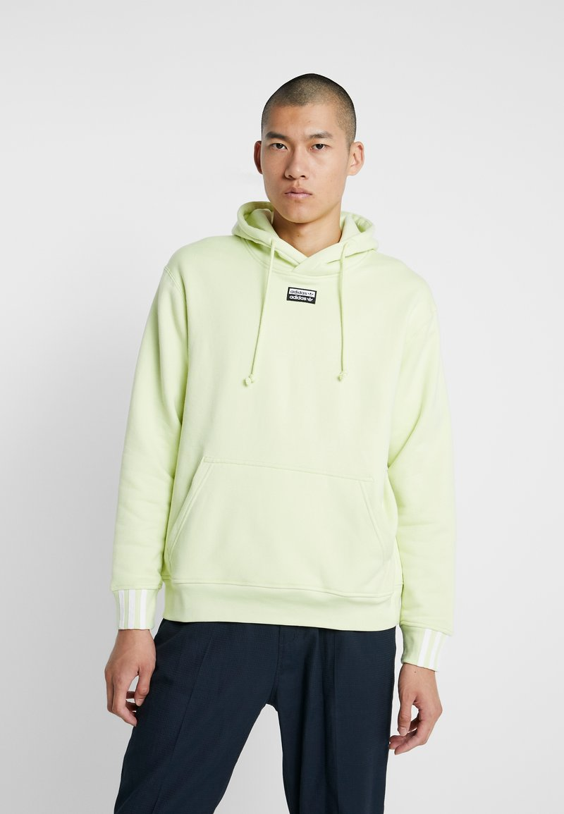 adidas Originals - REVEAL YOUR VOICE HOODY - Mikina skapucí - ice yellow
