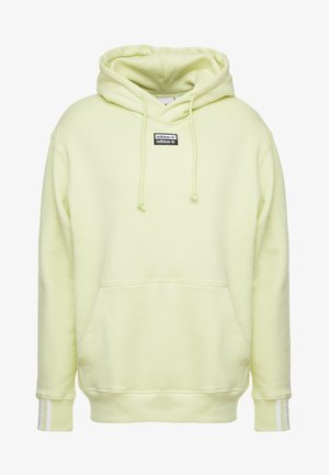 REVEAL YOUR VOICE HOODY - Kapuzenpullover - ice yellow