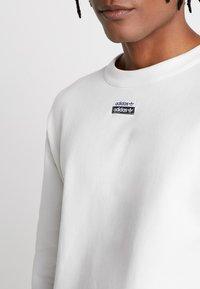 adidas Originals - REVEAL YOUR VOICE CREW - Sweatshirt - core white - 5