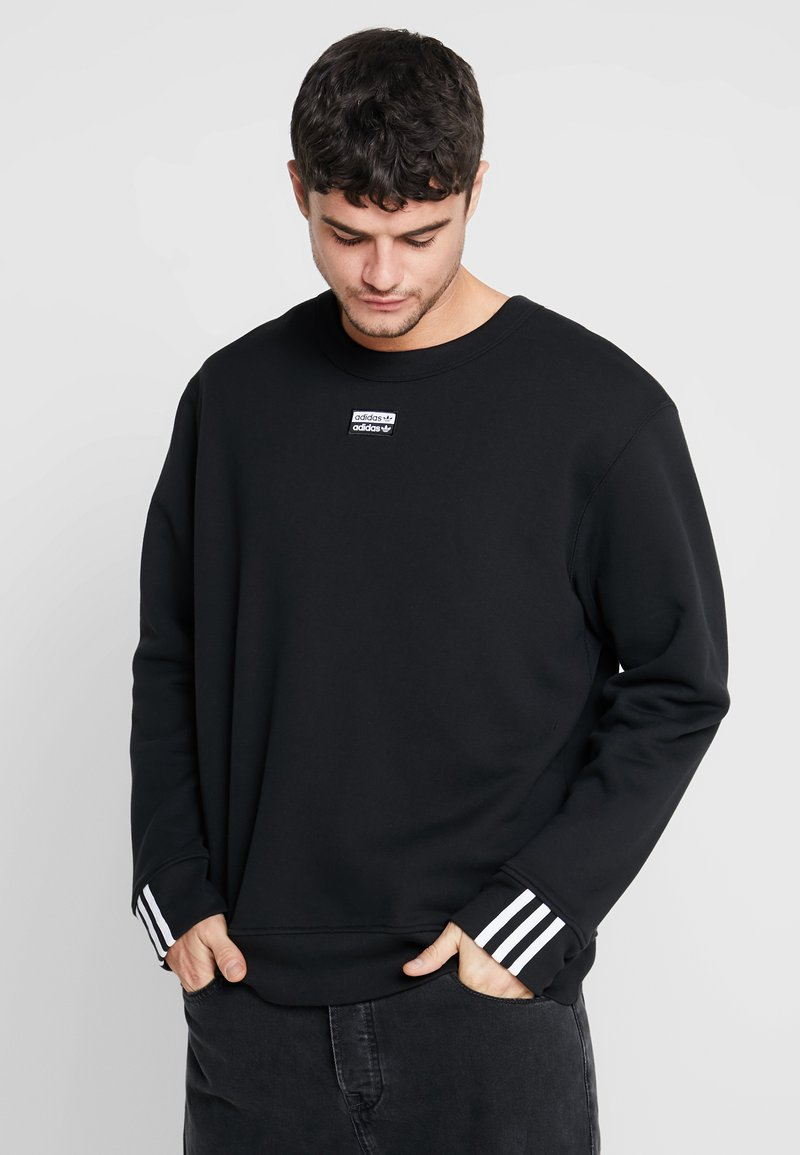 adidas Originals - REVEAL YOUR VOICE CREW - Sudadera - black