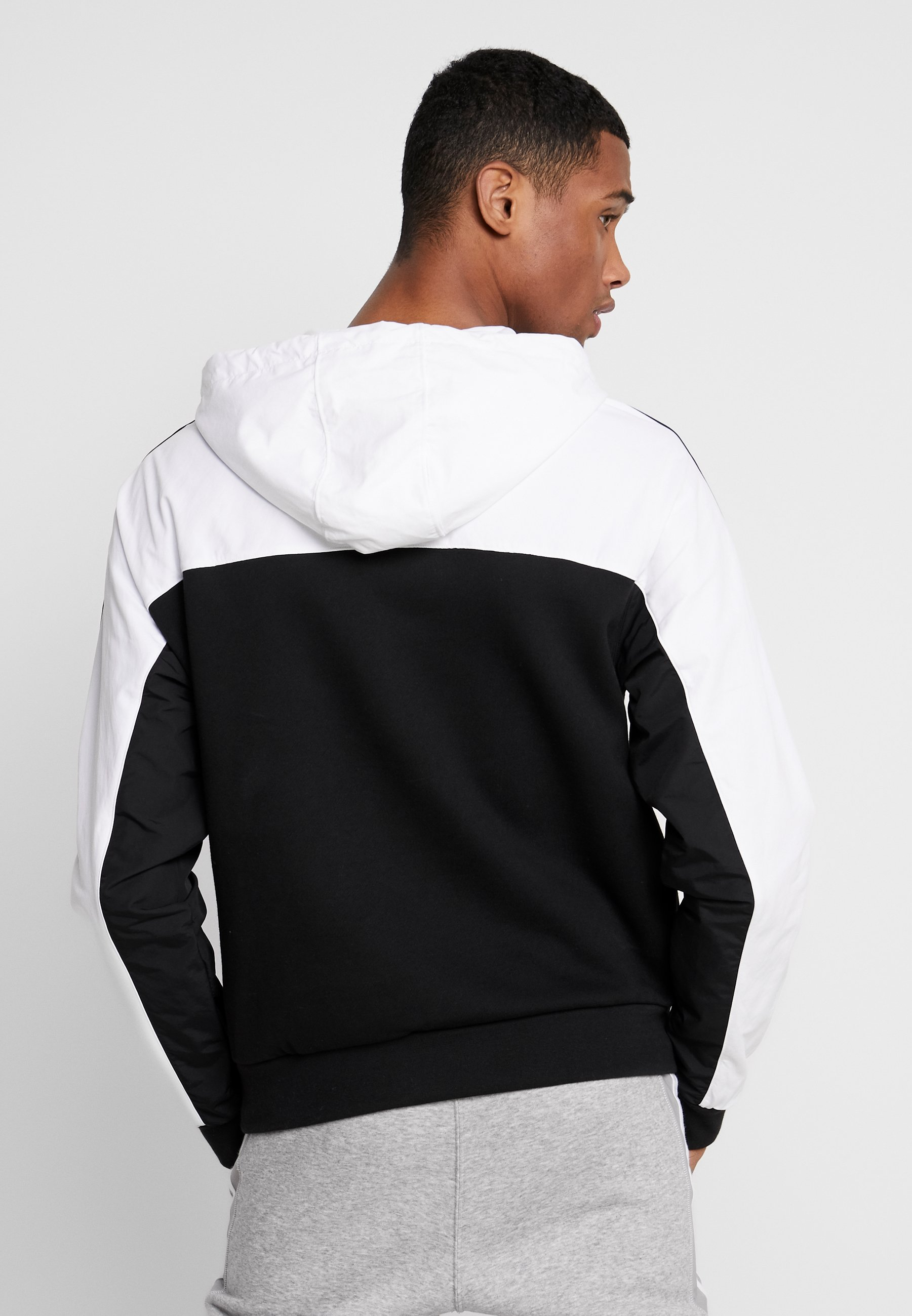 Capuche Originals white Mixed HoodySweat À Adidas Black hrQCdxtsBo