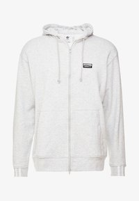 adidas Originals - REVEAL YOUR VOICE HOODY - Zip-up hoodie - light grey heather